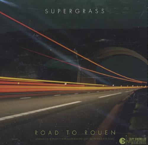 Supergrass Road To Rouen CD album (CDLP) US SGSCDRO339297