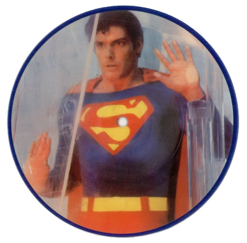 "Superman Main Title March 7"" vinyl picture disc 7 inch picture disc single UK S.M7PMA314370"