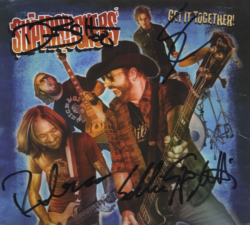 Supersuckers Get It Together - Fully Autographed 2-disc CD/DVD set US SUP2DGE460281