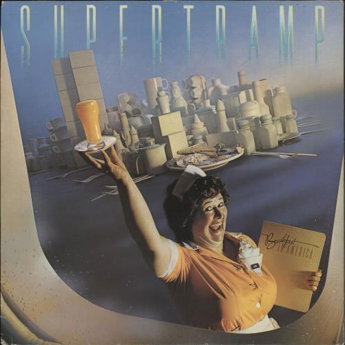 Supertramp Breakfast In America - 2nd vinyl LP album (LP record) UK SPTLPBR721632