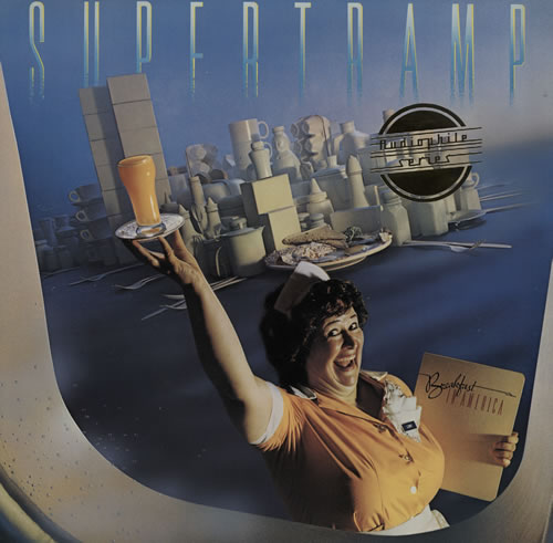 Supertramp Breakfast In America - Audiophile vinyl LP album (LP record) Canadian SPTLPBR569152