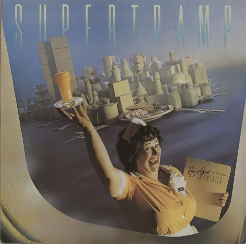Supertramp Breakfast In America - EX vinyl LP album (LP record) UK SPTLPBR676369