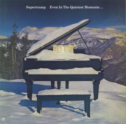 Supertramp Even In The Quietest Moments... - EX vinyl LP album (LP record) UK SPTLPEV654968