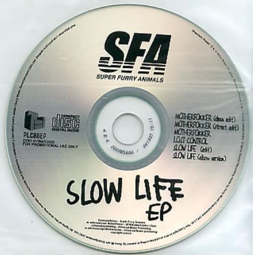Super Furry Animals Slow Life EP CD-R acetate UK SFACRSL286764