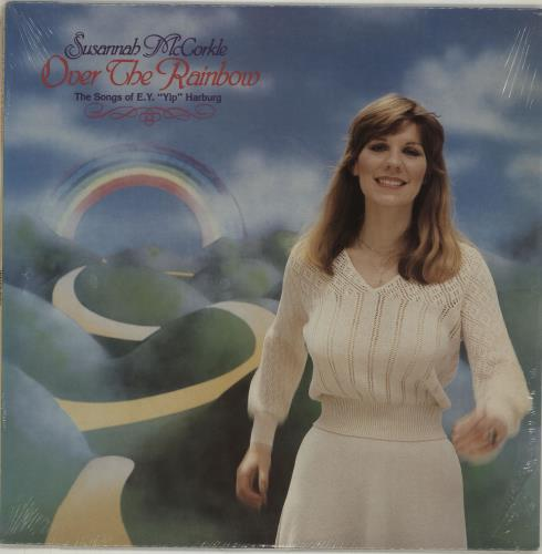 "Susannah McCorkle Over The Rainbow: The Songs Of E.Y. ""Yip"" Harburg vinyl LP album (LP record) US S2MLPOV677042"