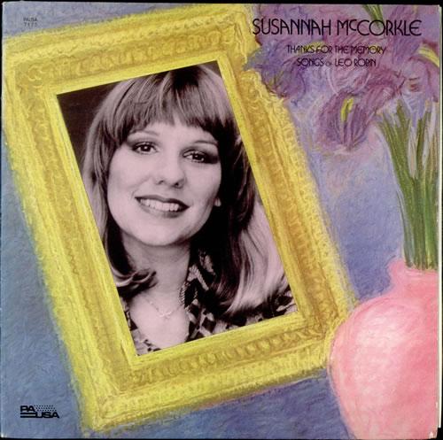 Susannah McCorkle Thanks For The Memory - Songs Of Leo Robin vinyl LP album (LP record) US S2MLPTH533356