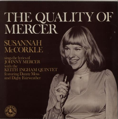 Susannah McCorkle The Quality Of Mercer vinyl LP album (LP record) UK S2MLPTH453364