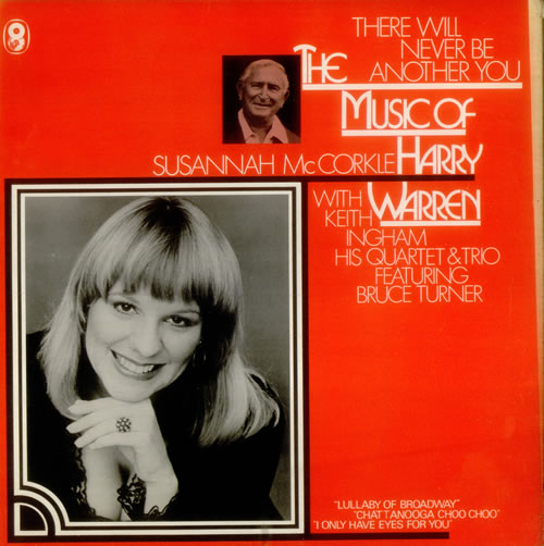 Susannah McCorkle There Will Never Be Another You - The Music Of Harry Warren vinyl LP album (LP record) UK S2MLPTH545561