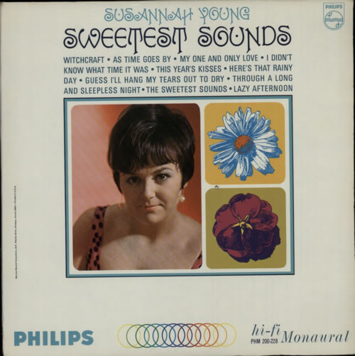 Susannah Young Sweetest Sounds vinyl LP album (LP record) US S2YLPSW587993