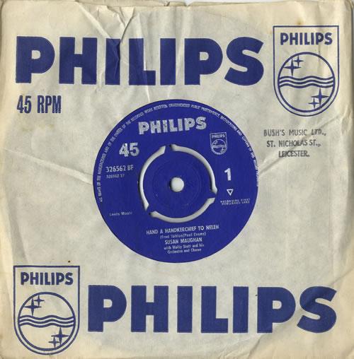 "Susan Maughan Hand A Handkerchief To Helen 7"" vinyl single (7 inch record) UK SM.07HA546347"