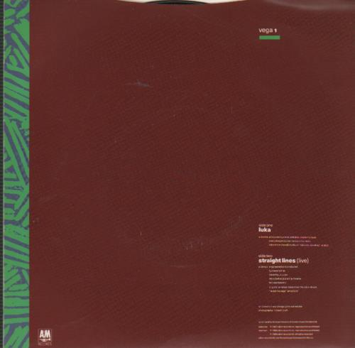 "Suzanne Vega Luka - Silver injection 7"" vinyl single (7 inch record) UK VEG07LU242584"