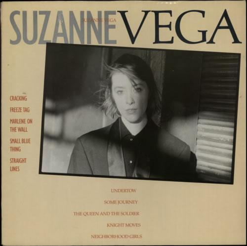 Suzanne Vega Suzanne Vega vinyl LP album (LP record) UK VEGLPSU179680