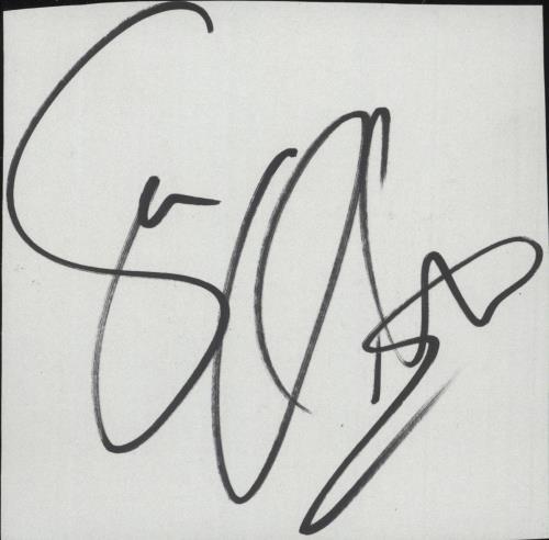 Suzi Quatro Autograph memorabilia UK SUZMMAU732383
