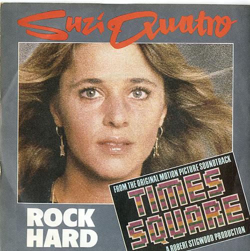 """Suzi Quatro Rock Hard 7"""" vinyl single (7 inch record) UK SUZ07RO100470"""