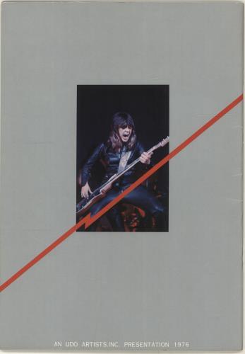 Suzi Quatro Rockupation '76 + Ticket Stub tour programme Japanese SUZTRRO701793
