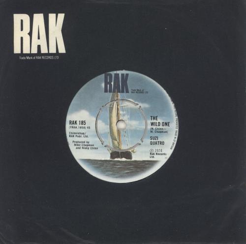 "Suzi Quatro The Wild One - 4pr 7"" vinyl single (7 inch record) UK SUZ07TH242416"