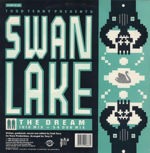 """Swan Lake In The Name Of Love 12"""" vinyl single (12 inch record / Maxi-single) UK S.L12IN195792"""