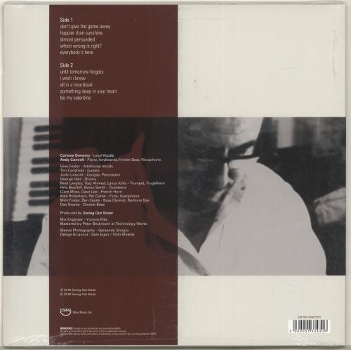 Swing Out Sister Almost Persuaded - Sealed vinyl LP album (LP record) UK SOSLPAL698782
