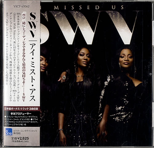 SWV I Missed Us + Obi Japanese Promo CD album (CDLP)