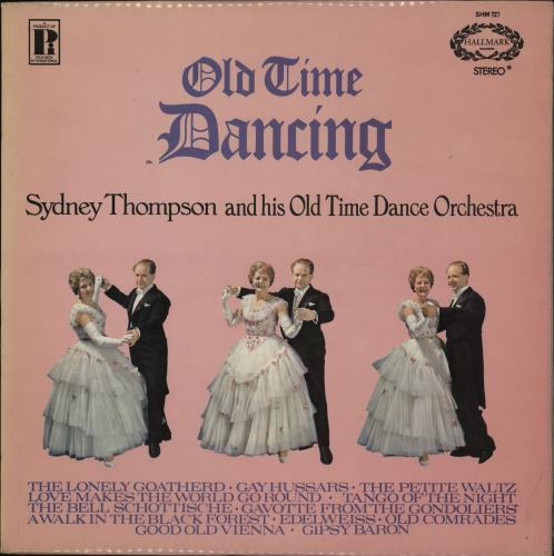 Sydney Thompson Old Time Dancing vinyl LP album (LP record) UK VYDLPOL764807