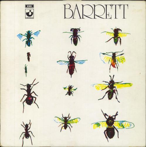 Syd Barrett Barrett - All Rights label text vinyl LP album (LP record) UK SYDLPBA603396