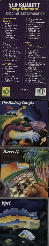 Syd Barrett Crazy Diamond - Stickered box CD Album Box Set UK SYDDXCR463959