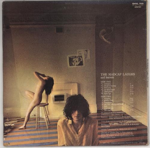 Syd Barrett The Madcap Laughs - 1st - VG vinyl LP album (LP record) UK SYDLPTH731411