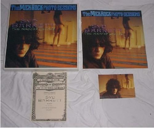 Syd Barrett The Madcap Laughs box set UK SYDBXTH185068
