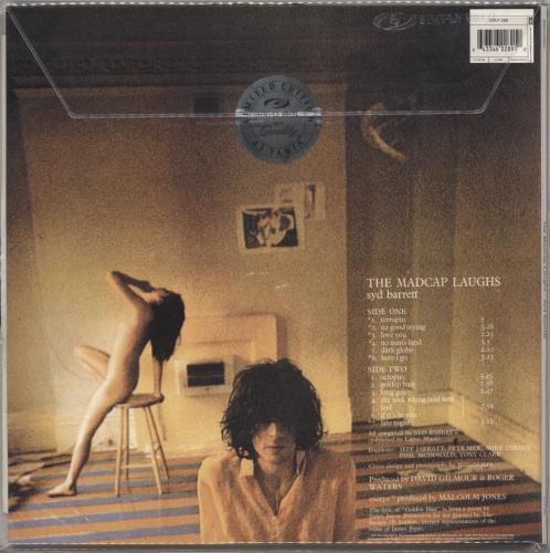 Syd Barrett The Madcap Laughs vinyl LP album (LP record) UK SYDLPTH721461