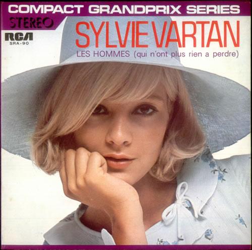 "Sylvie Vartan Les Hommes 7"" vinyl single (7 inch record) Japanese VIE07LE537345"