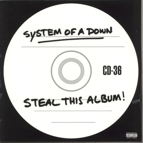System Of A Down Steal This Album! - Sealed 2-LP vinyl record set (Double Album) UK SMD2LST736072
