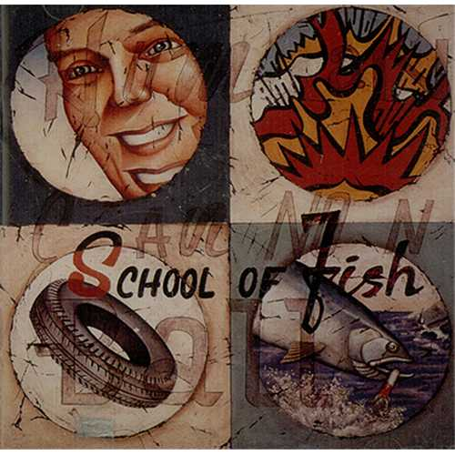 School Of Fish Human Cannonball CD album (CDLP) US SF-CDHU407533