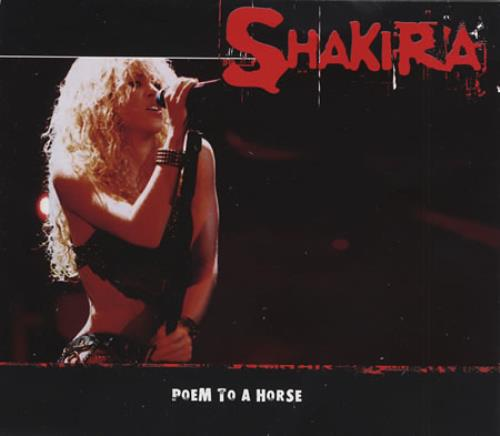 "Shakira Poem To A Horse CD single (CD5 / 5"") Mexican IKAC5PO281527"