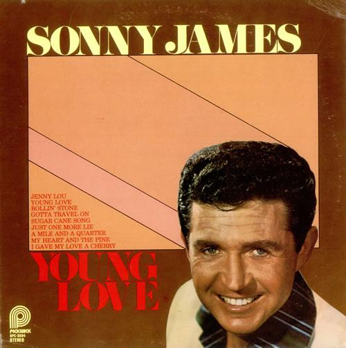 Sonny James Young Love Us Vinyl Lp Album Lp Record 524391