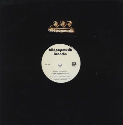 T 233 L 233 Popmusik Breathe Canadian Promo 12 Quot Vinyl Single 12
