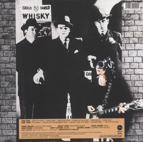 T-Rex / Tyrannosaurus Rex Bolan's Zip Gun - 180gm Clear Vinyl - Sealed vinyl LP album (LP record) UK REXLPBO739476
