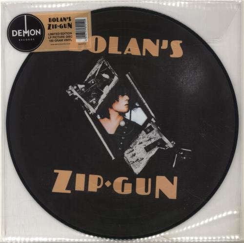 T-Rex / Tyrannosaurus Rex Bolan's Zip Gun - 180gm Picture Disc picture disc LP (vinyl picture disc album) UK REXPDBO698212