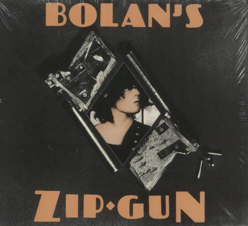 T-Rex / Tyrannosaurus Rex Bolan's Zip Gun CD album (CDLP) German REXCDBO733013