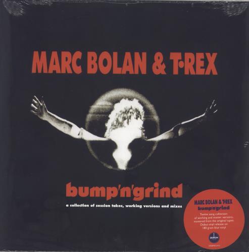 T-Rex / Tyrannosaurus Rex Bump N Grind - RSD19 - 180gm Blue Vinyl - Sealed vinyl LP album (LP record) UK REXLPBU718509