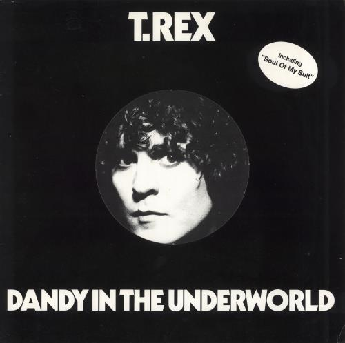 T-Rex / Tyrannosaurus Rex Dandy In The Underworld - EX vinyl LP album (LP record) German REXLPDA733289