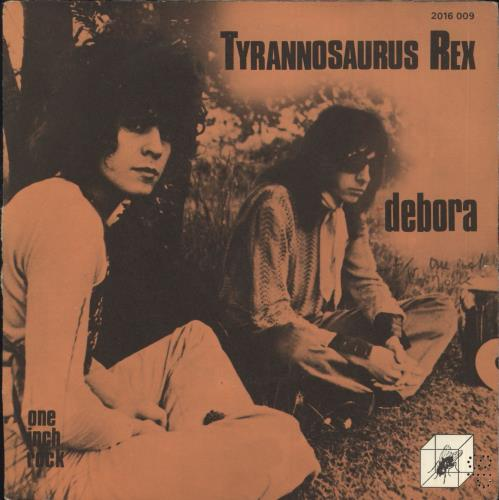 "T-Rex / Tyrannosaurus Rex Debora - Orange Injection + Sleeve 7"" vinyl single (7 inch record) French REX07DE731625"
