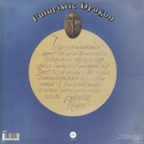 T-Rex / Tyrannosaurus Rex Futuristic Dragon - 180gm Clear Vinyl - Sealed vinyl LP album (LP record) UK REXLPFU739477