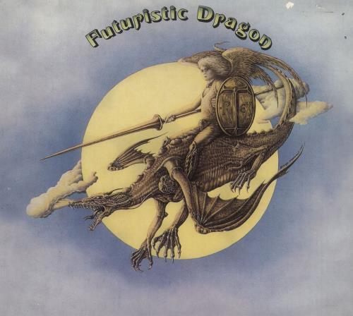 T-Rex / Tyrannosaurus Rex Futuristic Dragon CD album (CDLP) German REXCDFU732998