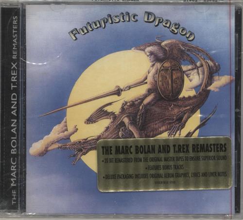 T-Rex / Tyrannosaurus Rex Futuristic Dragon CD album (CDLP) US REXCDFU733000