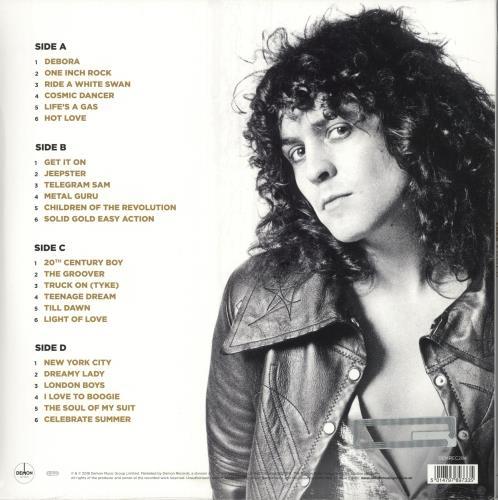 T-Rex / Tyrannosaurus Rex Gold - 180gm - Sealed 2-LP vinyl record set (Double Album) UK REX2LGO715501