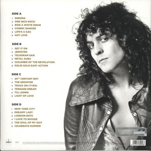 T-Rex / Tyrannosaurus Rex Gold - Gold Vinyl - Sealed 2-LP vinyl record set (Double Album) UK REX2LGO726463