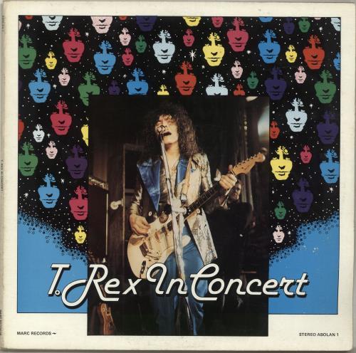 T-Rex / Tyrannosaurus Rex In Concert vinyl LP album (LP record) UK REXLPIN323220