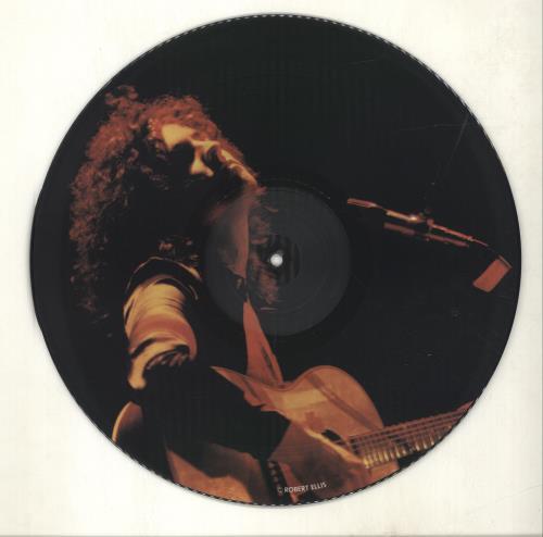 T-Rex / Tyrannosaurus Rex In Concert picture disc LP (vinyl picture disc album) UK REXPDIN323253