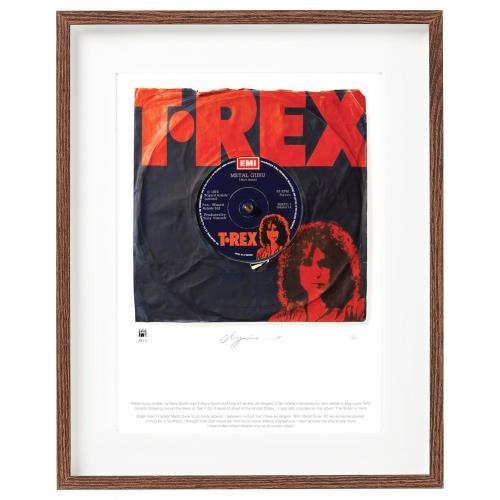 T-Rex / Tyrannosaurus Rex Metal Guru - SuperSizeArt Numbered Print artwork UK REXARME732495