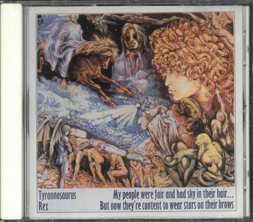 T-Rex / Tyrannosaurus Rex My People Were Fair And Had Sky In Their Hair...But Now They CD album (CDLP) UK REXCDMY733018